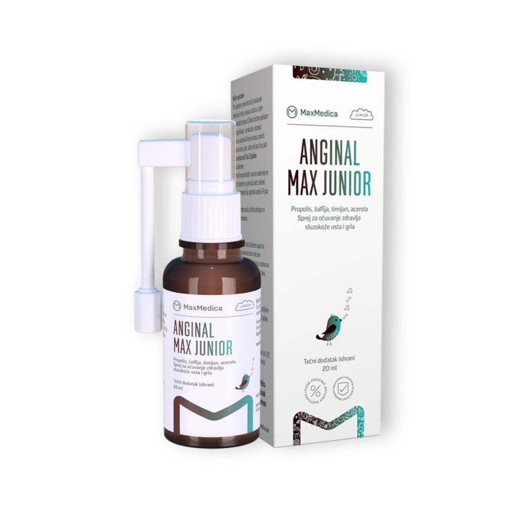 Maxmedica anginal max junior 20ml