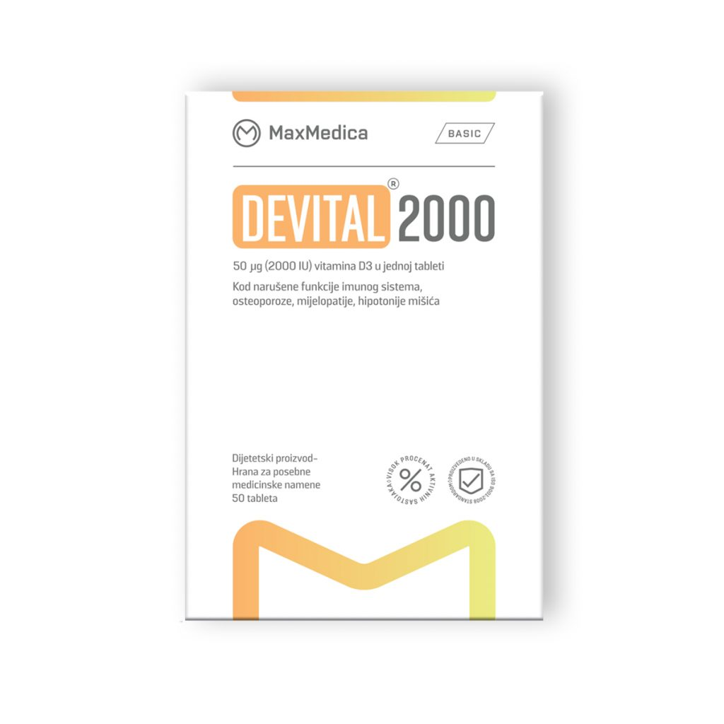 Maxmedica devital 2000 50 tableta
