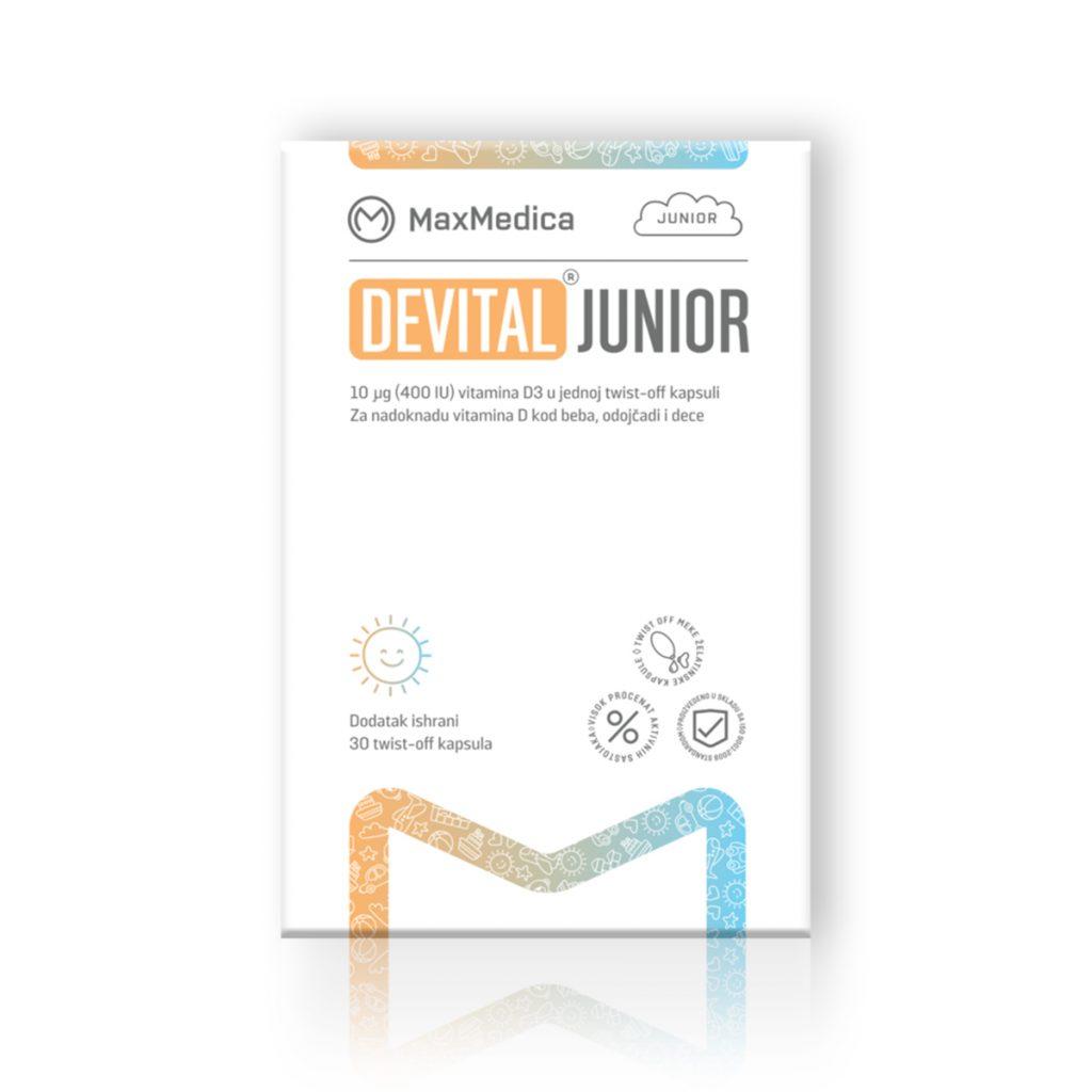 Maxmedica devital junior 30 kapsula