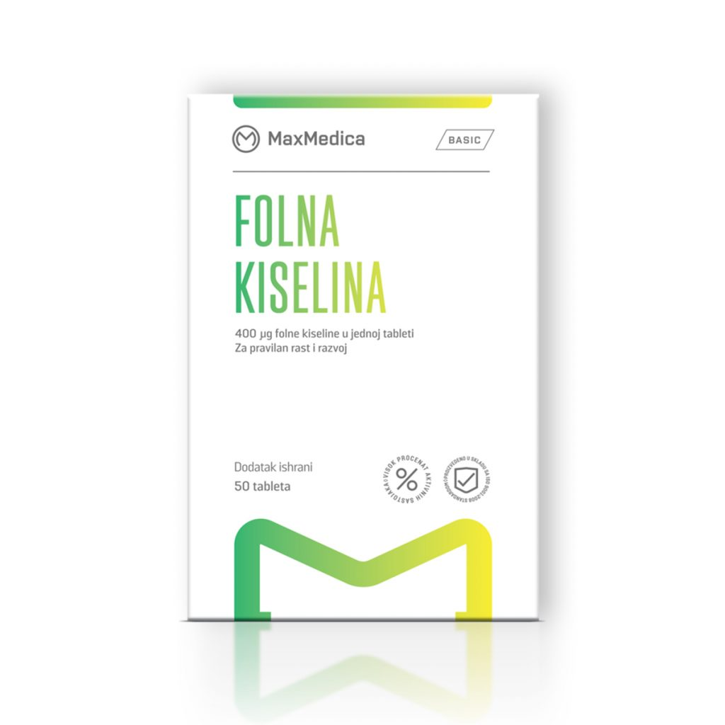 Maxmedica folna kiselina 50 tableta