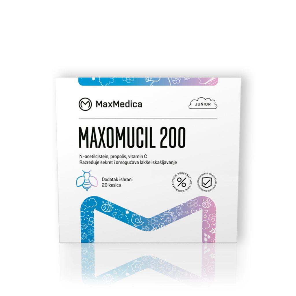 Maxmedica maxomucil 20 kesica