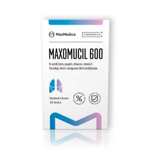 Maxmedica maxomucil 600 10 kesica