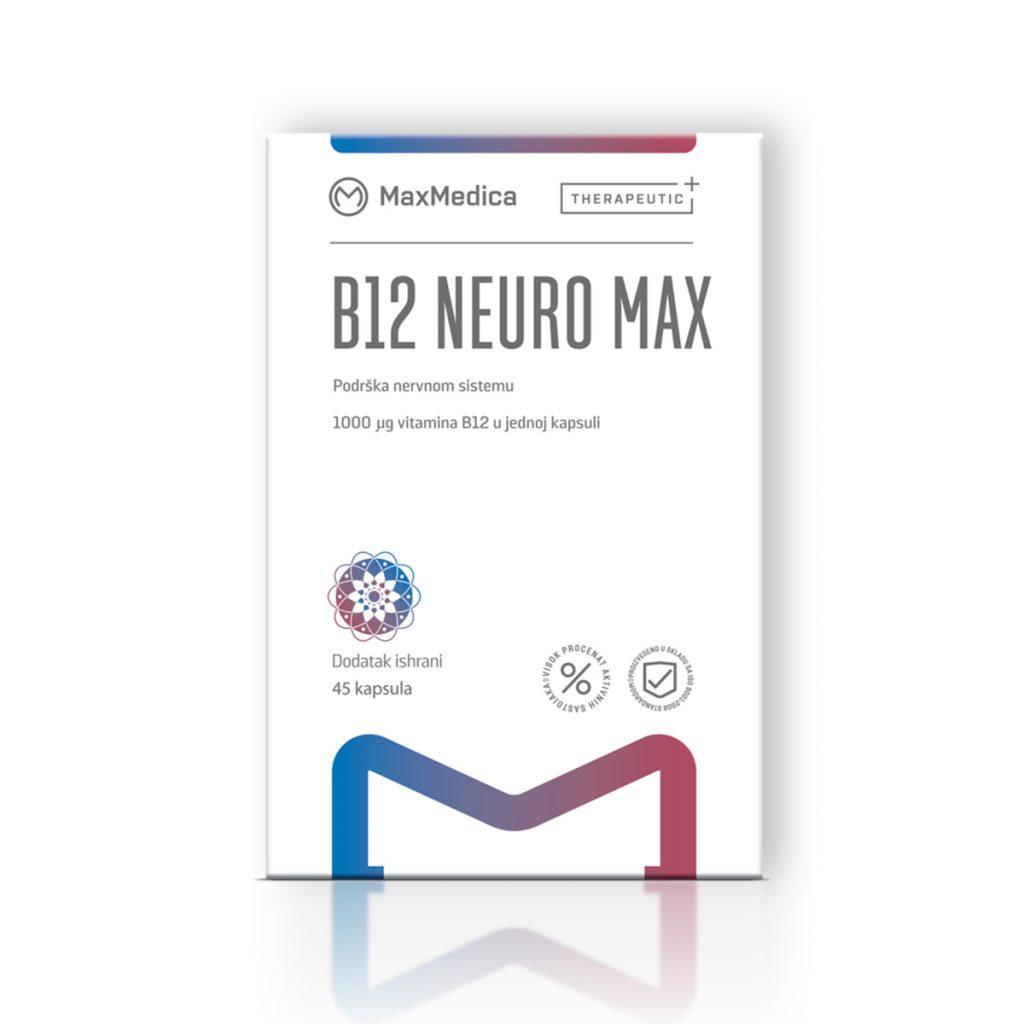 Maxmedica vitamin b12 neuro max 45 kapsula