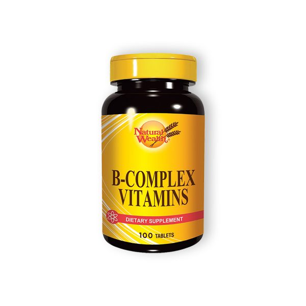 Natural wealth b kompleks vitamina 100 tableta