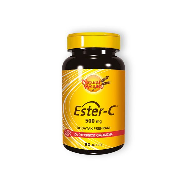 Natural wealth ester c 500mg 60 tableta