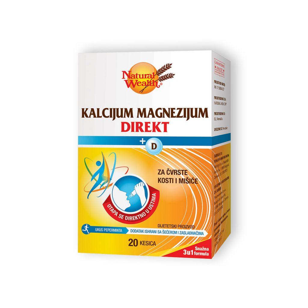 Natural wealth kalcijum magnezijum direkt 20 kesica