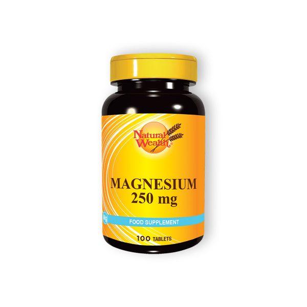 Natural wealth magnezijum 250mg 100 tableta