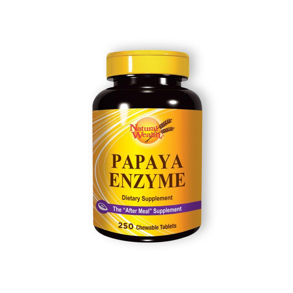 Natural wealth papaja enzim 250 tableta