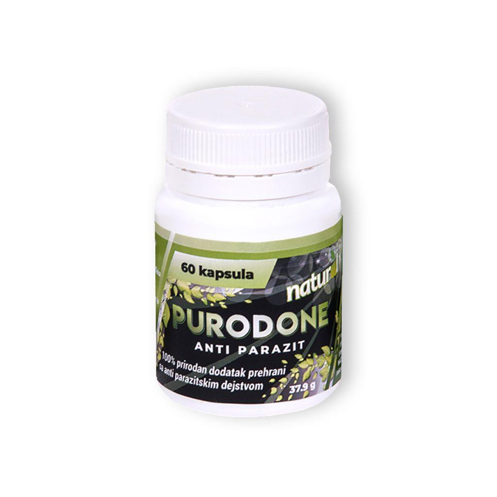 Purodone anti parazit 60 kapsula