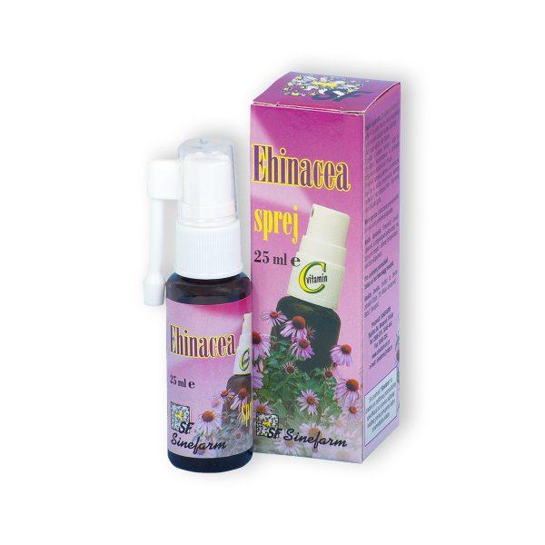 Sinefarm ehinacea sprej sa c vitaminom 25 ml