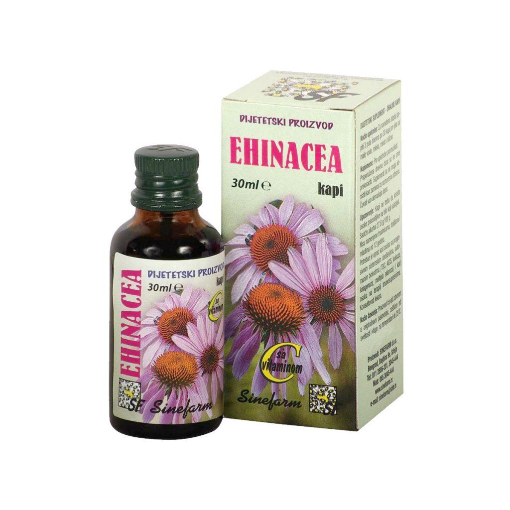 Sinefarm kapi od ehinacee sa c vimtainom 30 ml
