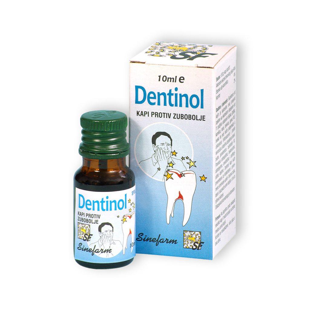 Sinefarm kapi protiv zubobolje 10 ml e dentinol