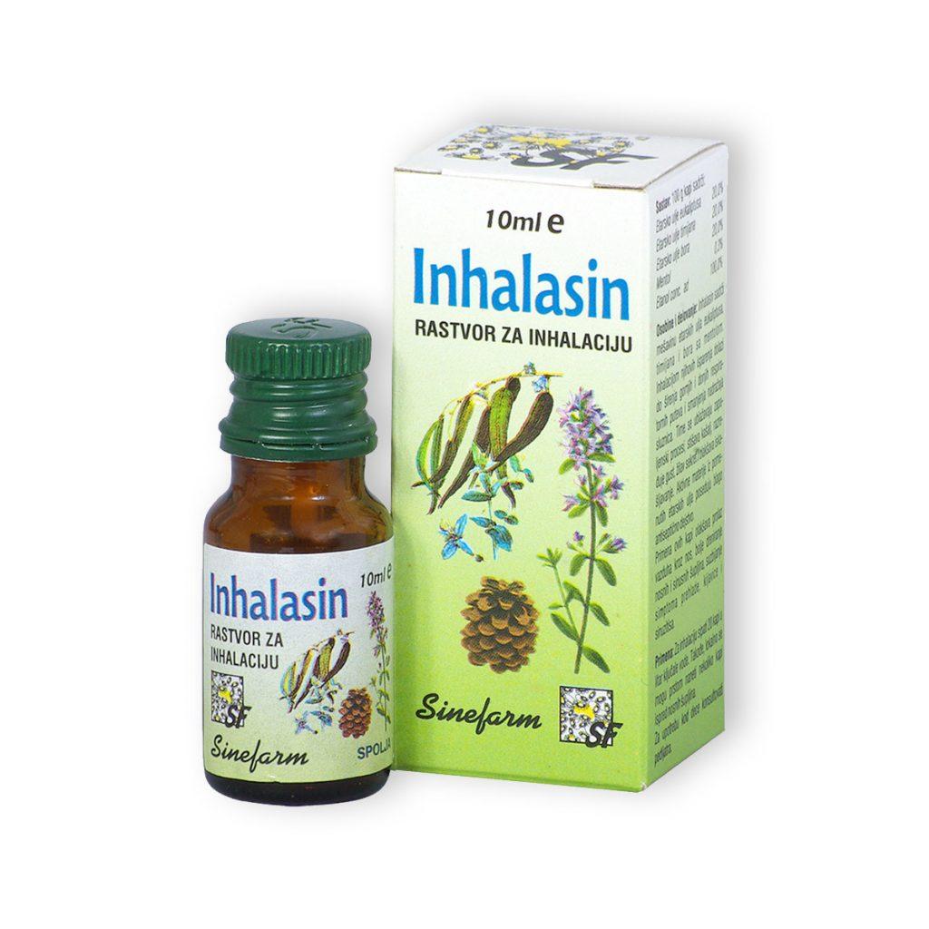 Sinefarm kapi za inhalaciju 10 ml e inhalasin