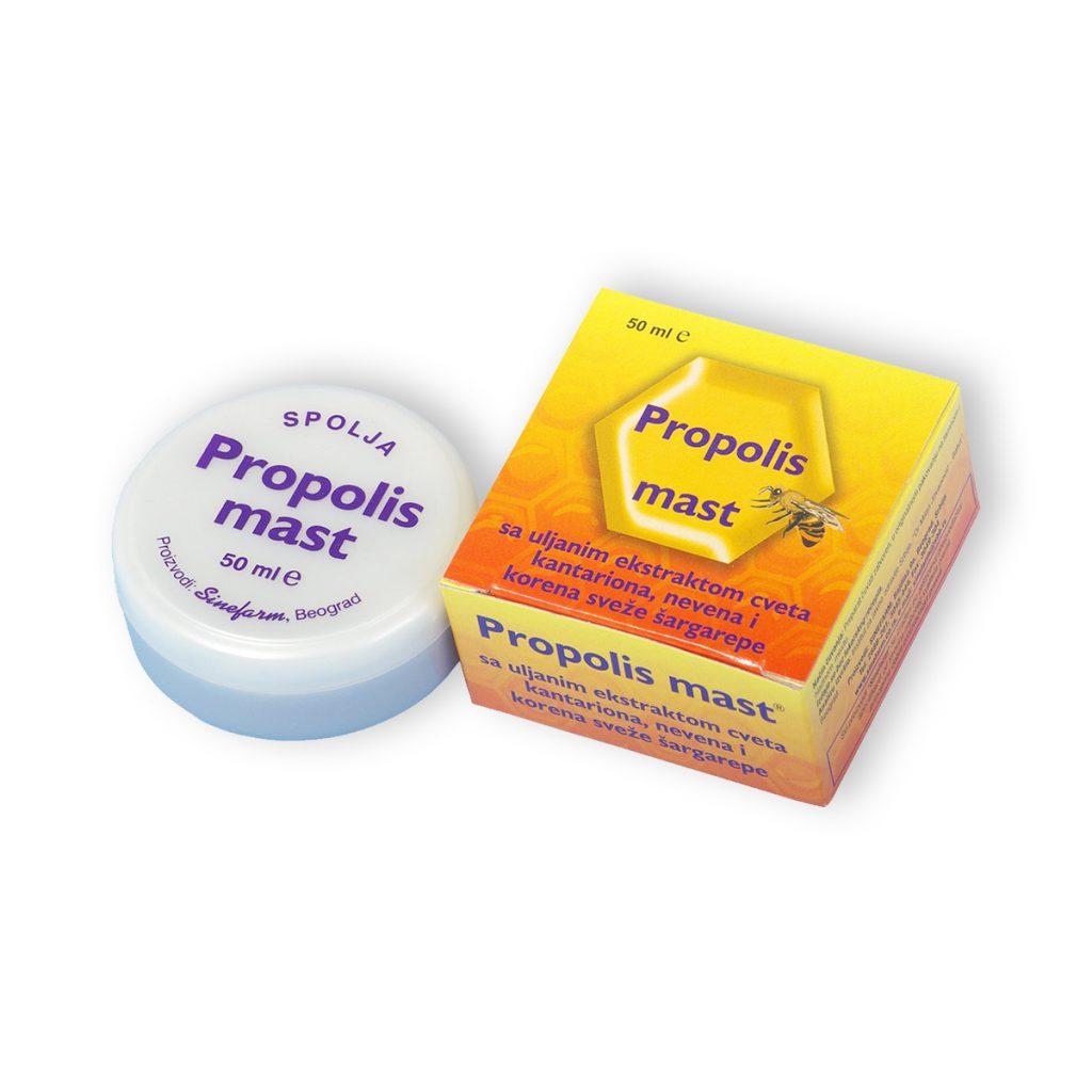 Sinefarm mast sa propolisom biljnim ekstraktima vitaminima d e 50 ml
