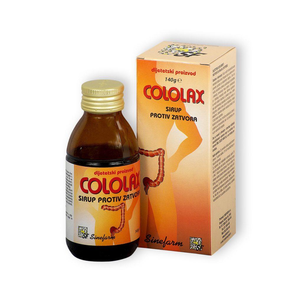 Sinefarm sirup protiv zatvora 140 g e cololax